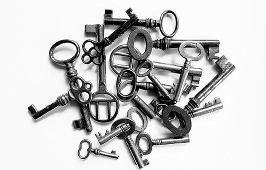 Key, Close Up, Open, Door Key, Security, Close To