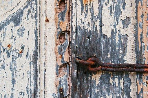 Old Door, Closed, Door, Input, Wood, Castle, Antique