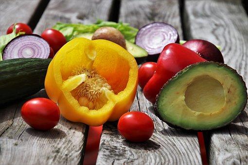 Vegetables, Colorful, Tasty, Food, Vitamins, Yellow