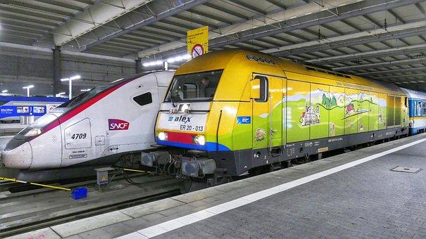 Transport System, Train, Motor, Industry, Station