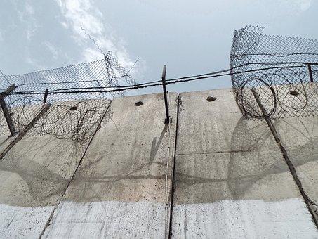 Palestine, Israel, Wall, Architecture, Travel