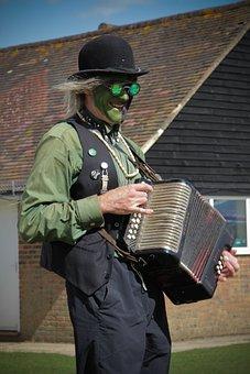 Morris Dancers, Village, Green Men, Tradition, Outdoor