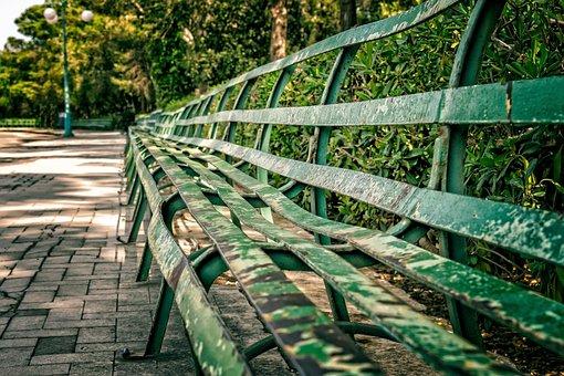 Bank, Sit, Park, Long, Metal, Out, Rest, Break, Seat