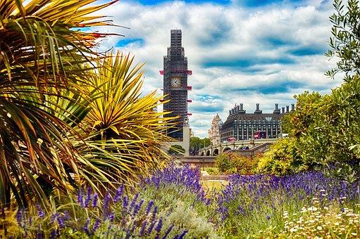 London, Bigben, England, City, Parliament, Building