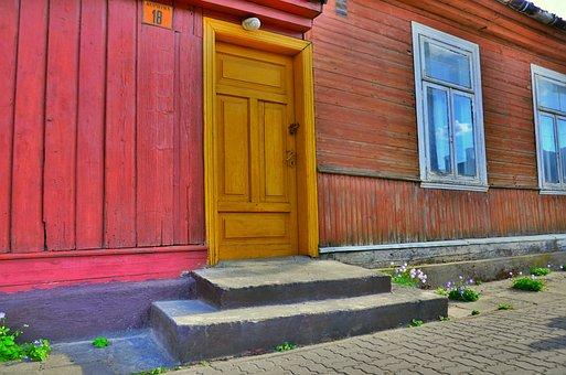 Suchowola, Podlaskie, Poland, Doors, Window, Wood