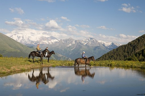 Russia, Karachay-cherkessia, At Karachay, Elbrus