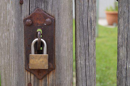 Castle, Padlock, Security, Closed, Fence, Capping