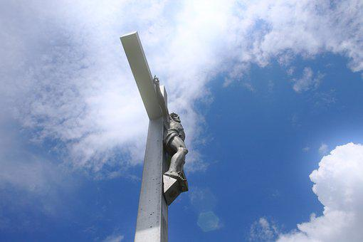 Jesus, Sky, Cross, Christ, God, Crucifix, Clouds