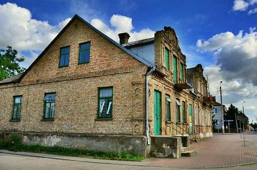 Suchowola, Podlaskie, Poland, Building, House, Wall