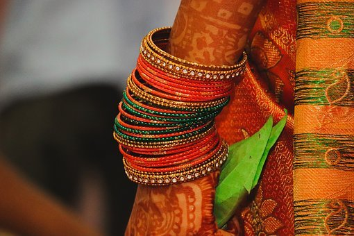 Indian Wedding, Tradition, Culture, Hand, Bangles, Hope