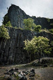Balaton, Basalt, Hegyestű, Volcano, Trip, Hungary