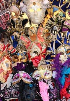 Venice, Masks, Carnival, Mask, Mysterious, Carneval