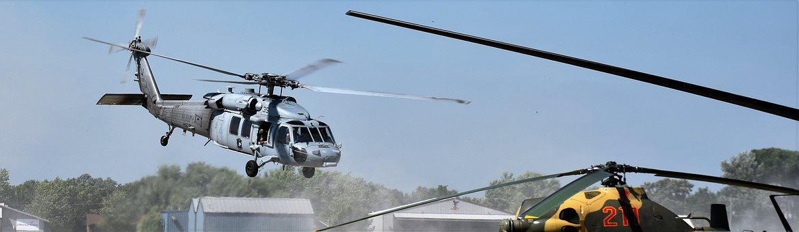 Helicopter, Military, Airshow, Defense, Aircraft, Fly