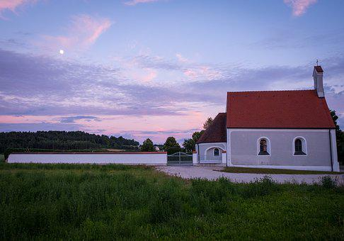 Cemetery, Chapel, Fridhof Chapel, Church, Architecture