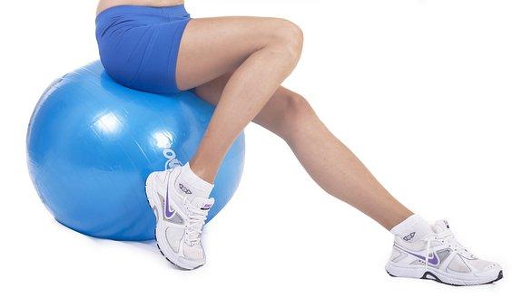 Plates, Ball, Sports, Women's, Leg, Hip, Fashion