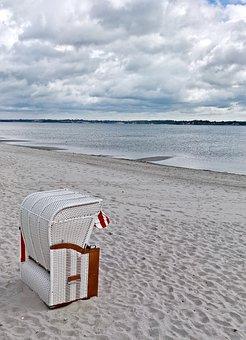 Baltic Sea, Beach Chair, Fine Sand Beach