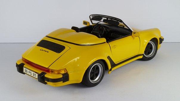 Porsche, 964, Speedster, 1989, Cabrio, Convertible, 911