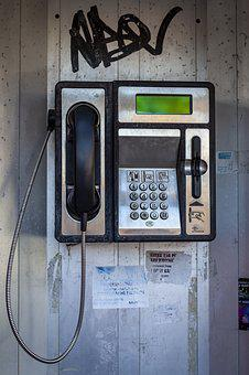 Phone, Phone Booth, Retro, Communication, Call
