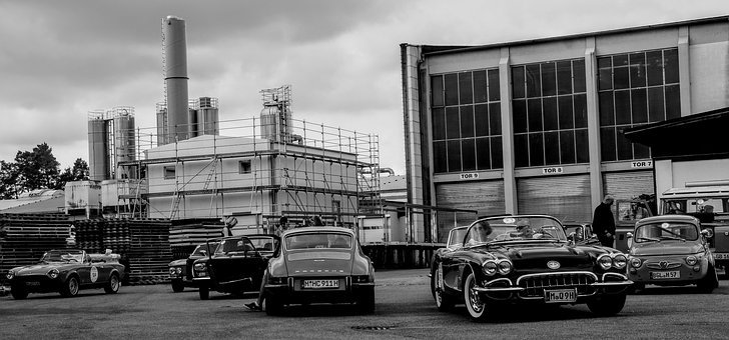 Oldtimer, Industry, Chimney
