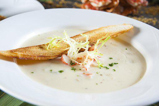 Crab Meat, Clever Up, Bisque