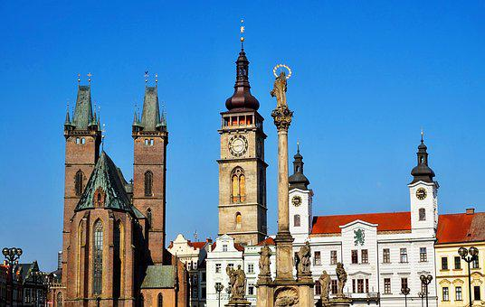 Tower, Church, Czechia, Architecture, City, Europe