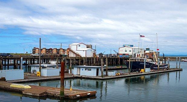 Westport Docks, Waterfront, Piers, Docks, Boats