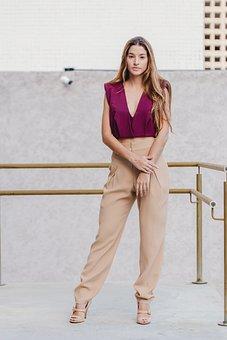Fashion, Model, Clothes, Woman, Girl, Lady, Rail
