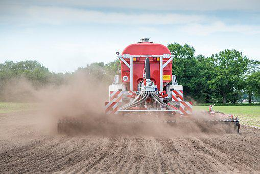 Gülle, Fertilization, Spreading, Corn, Güllefaß