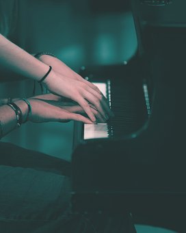 Piano, Dear, Love, Romantic, Heart, Happy, Double