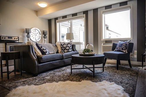 Living Room, Luxury, House, Interior, Interior Design