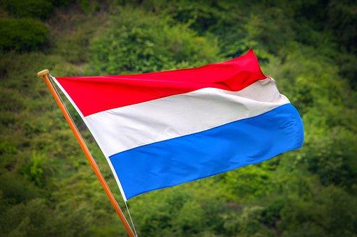 Flag, Netherlands, Holland, Europe, Land, Red, Blue