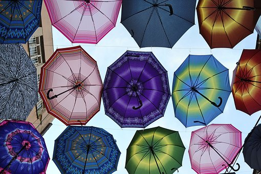 Umbrellas, Summer, Pleasure, Macedonia