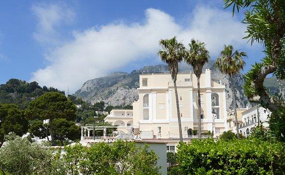 Capri, Italy, Mediterranean, Island, Holiday, Nature