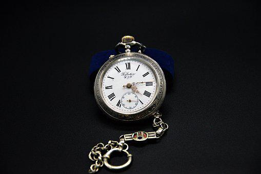 Pocket Watch, Old, Dial, Fob, Pointer, Timepiece, Time