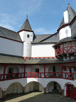 Castle, Pfalzgrafenstein, Rhine, Kaub, Customs