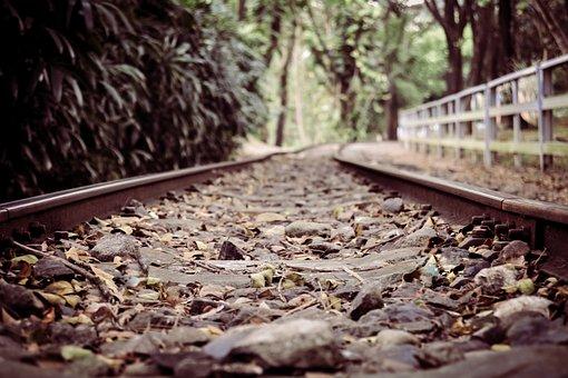 Railroad, Road, Rail, Transportation, Line, Locomotive