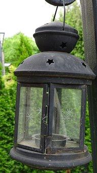 Chandelier, Lantern, Ornament, Romantic, Garden