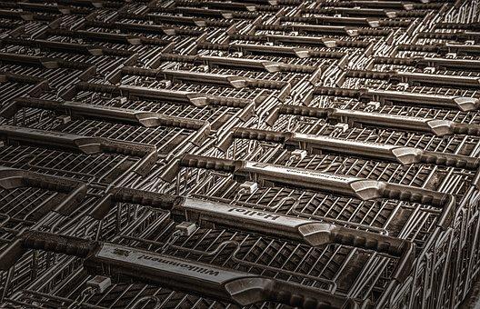 Shopping Cart, Shopping, Purchasing, Supermarket