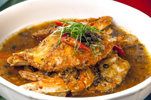 Braised, Crab, Soup