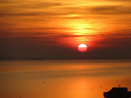 Essex, Evenings, Sunset, Southend