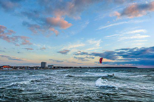 Surfer, Sea, Water Sports, Surf, Ocean, Wind, Coast