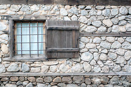 Wall, Windows, Architecture, House, The Building, Old