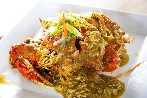 Curry, The Sauce Burn, Flower Crab