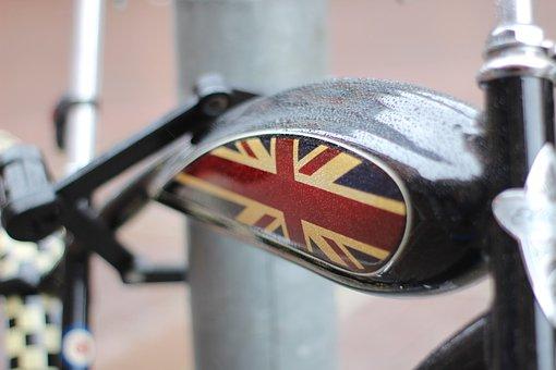 England, Flag, United Kingdom, English, London, Bike