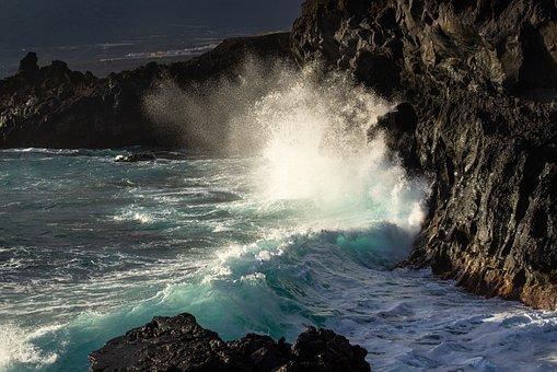 Surf, Sea, Water, Coast, Ocean, Landscape, Nature, Rock