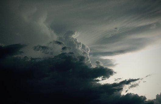 Storm, Clouds, Dark, Sky, Rain, Thunder, Weather
