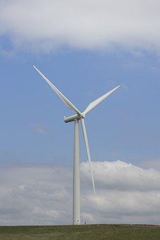 Wind-farm, Wind Farm, Eco, Environment, Rotation, Power