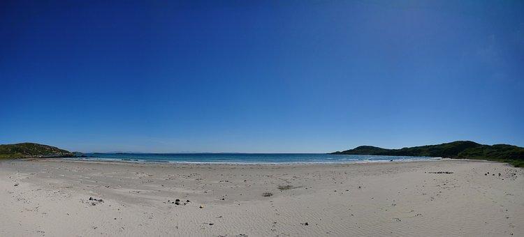 Beach, Scotland, Coast, Rock, Sea, Landscape, Water