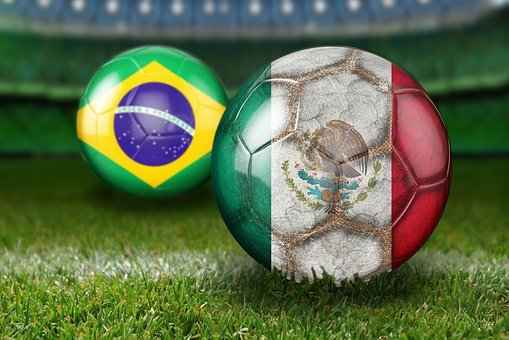 Round Of Last, World Cup 2018, Russia, Brazil, Mexico