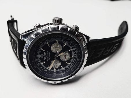 Time, Hour S, Fèrfi, Watch, Fashion, Breitling, Black